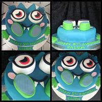 Moshi Monster 5th birthday cake by Kirstie's cakes