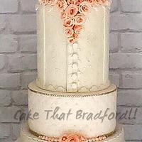 peaches and cream cake skirt