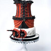 Burlesque! by THE BRIGHTON CAKE COMPANY