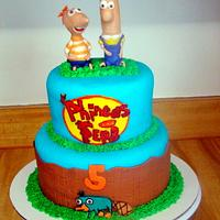 Phineas and Ferb by Ebony