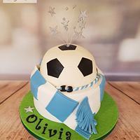 Hartlepool United Ladies Football Cake