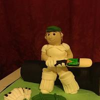 anyone for a game of cricket??? by jodie baker