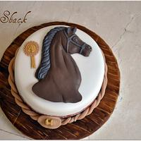horse theme cake!!