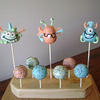 Lil Monsters Cake Pops
