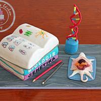Biologist cake