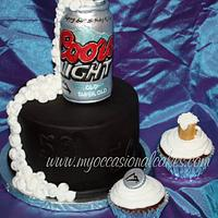 Beer Can cake & cuppies