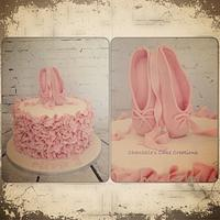 Ballerina slippers and ruffles