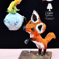 The little Prince and the fox - Le Petit Prince et le renard