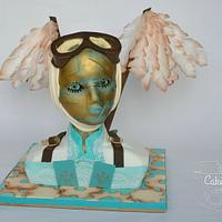 Venetian Carnival Steampunk Avaiator(Carnival Cakers)