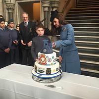 Air Cadets 75th Anniversary Cake