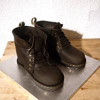 Doctor Marten Boot Cake