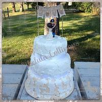 Rustic Wedding Cake & Cake Pops