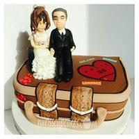 Weaving Aniversario Cake