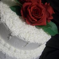 Buttercream Wedding Cake with Sota Technique