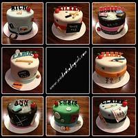 Teacher retirement cakes