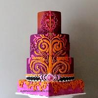 Indian Wedding Cake 2