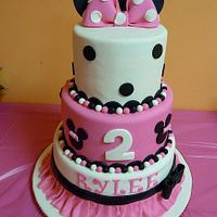 Minnie Mouse Girly Cake