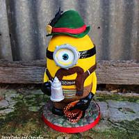 Wilhelm the Bavarian Minion - Oktoberfest Cake Collaboration 2016