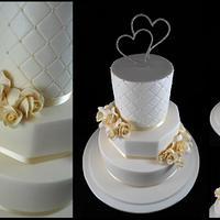 Ivory Wedded Bliss by Lisa-Jane Fudge