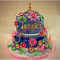 Tinkerbell Cake by Yusy Sriwindawati