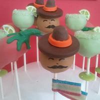 Cinco De Mayo Cake Pops