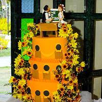Teachers' Orange Wedding