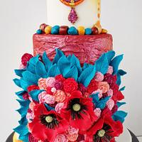 Couture Cakers Collaboration - Slavic Wreath