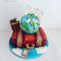 Travel cake 🛫
