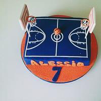 Baskeball cake