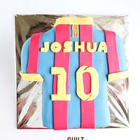 Barca - Messi Jersey Cake