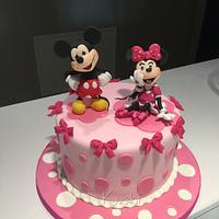 Minnie and Mikey