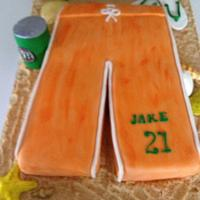 """ Jakes Beach Party Cake"""