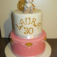 Thumper birthday cake