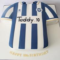 Brighton home shirt
