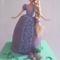 Princess Anna's birthday cake