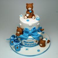 Teddies Party Time Cake, London