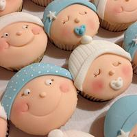 Baby cupcakes 💙👶