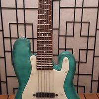 53rd Electric Guitar Birthday Cake