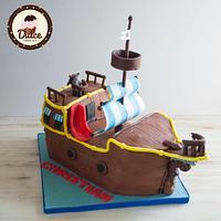 Pirate's Ship Cake