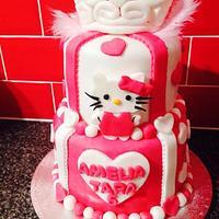 Hello Kitty and Princess Cake