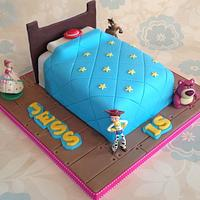 Toy Story Bed Cake