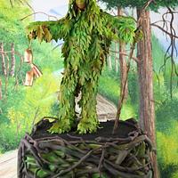 Trapajón, nature loving evil fighter - Sugar Myths and Fantasies collaboration