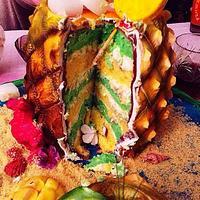 Pineapple Cocktail  Cake