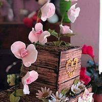 Cajon de orquideas