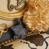 Vintage wedding Cake by Simone Barton