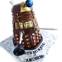 """Dalek cake from """" Doctor Who"""" by Gulnaz Mitchell"""