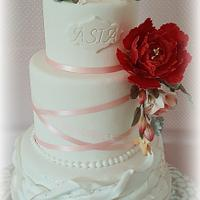 Baptism Asia Cake