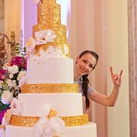 Stairway to heaven cake