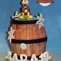Cake Olaf