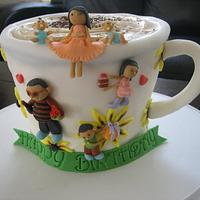 Coffee lover family Cake